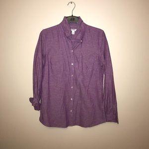 Old Navy linen button up shirt